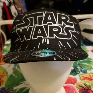 Brand New Disney Kids Starwars Snapback Hat